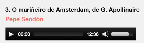 Apollinaire | O mariñeiro de Amsterdam
